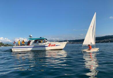 Übung mit dem Seerettungsdienst Küsnacht – Erlenbach am 09. Juli 2021